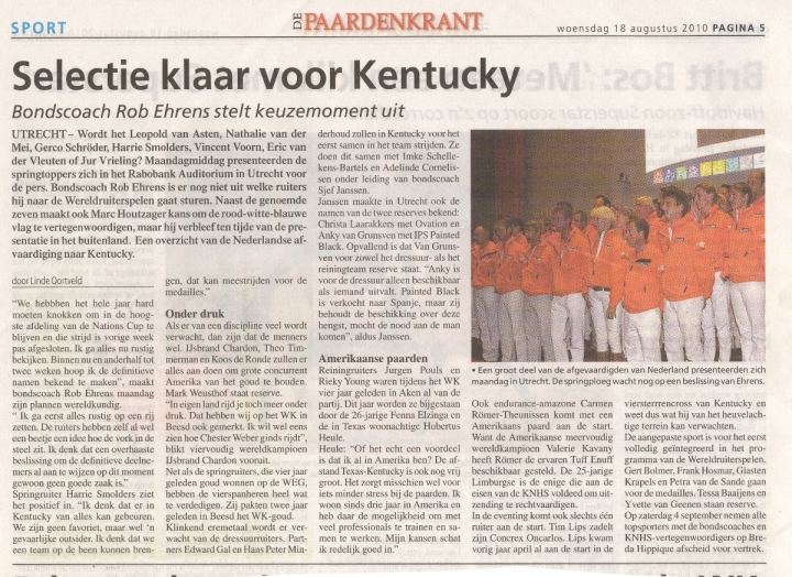 artikel-paardenkrant-teampresentatie-18-september